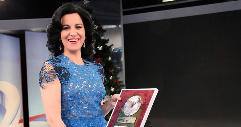 Angela Gheorghiu - Discul de aur