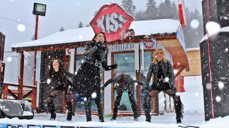 Andra la KISS FM