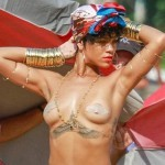 rihanna topless vogue brazilia