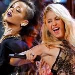 "Shakira şi Rihanna au lansat melodia ""Can't remember to forget you"""