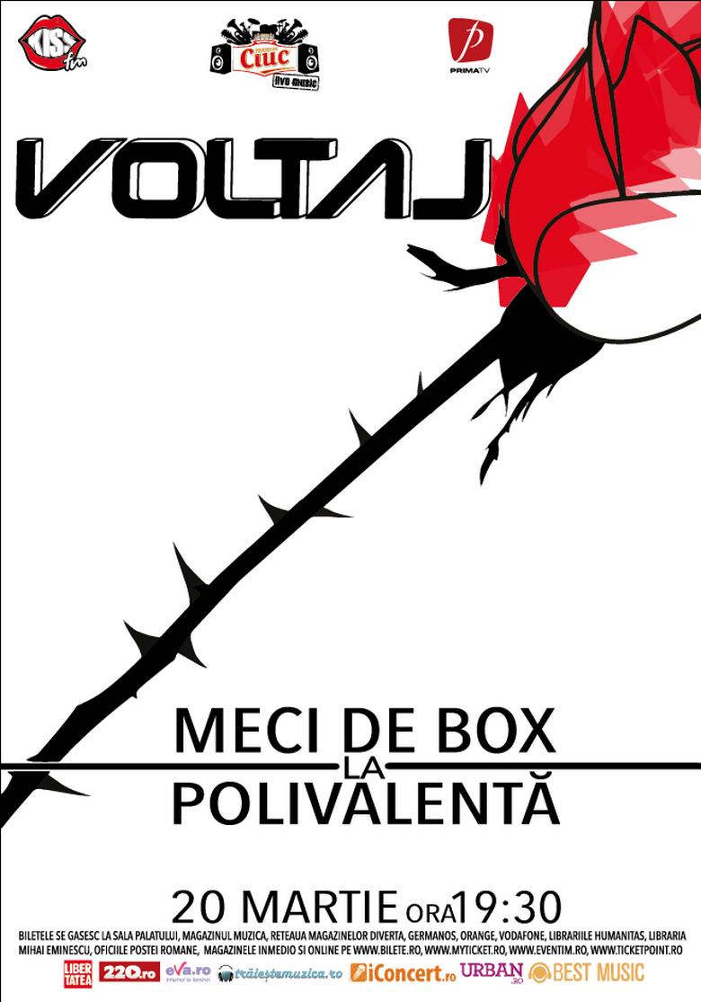 voltaj concert meci box polivalenta martie
