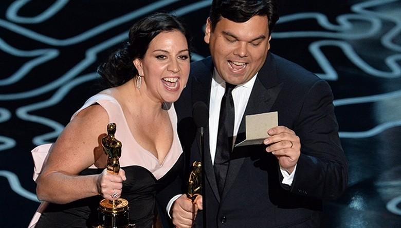 Kristen Anderson-Lopez si Robert Lopez melodia Let it go filmul Frozen premiile Oscar trofeul Cel mai bun cantec original
