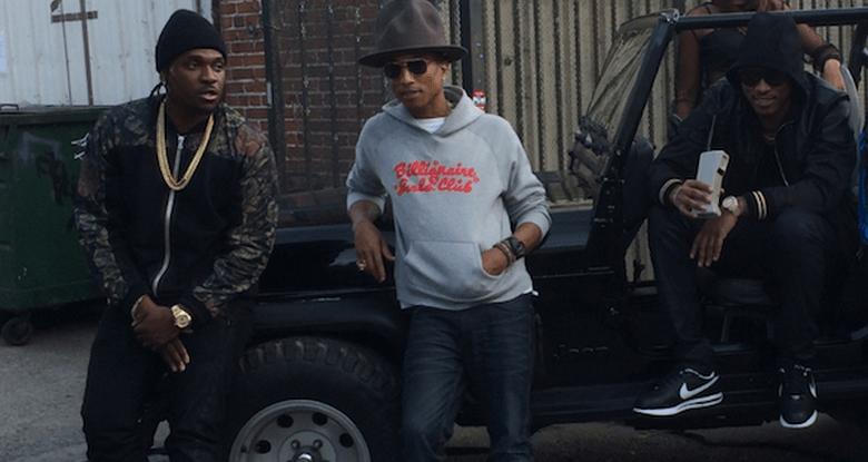 future pharrell pusha t videoclip move that dope
