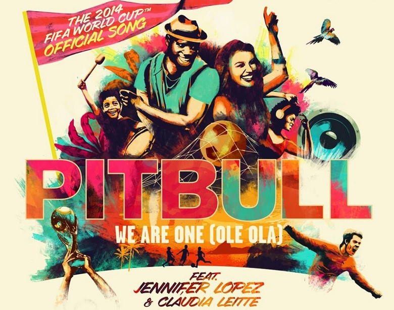 pitbull jennifer lopez claudia leitte we are one ole ola