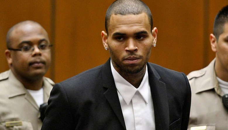 Chris-Brown-Arrested