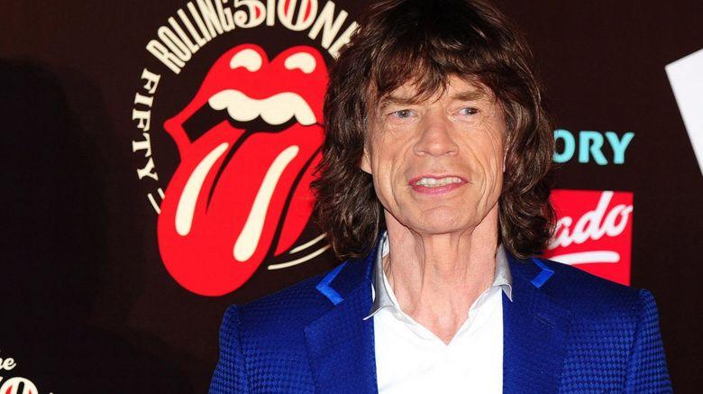 Mick-Jagger fotografiat femeie