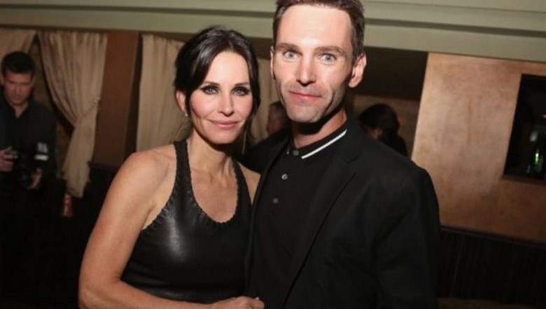 Courteney Cox si Johnny McDaid