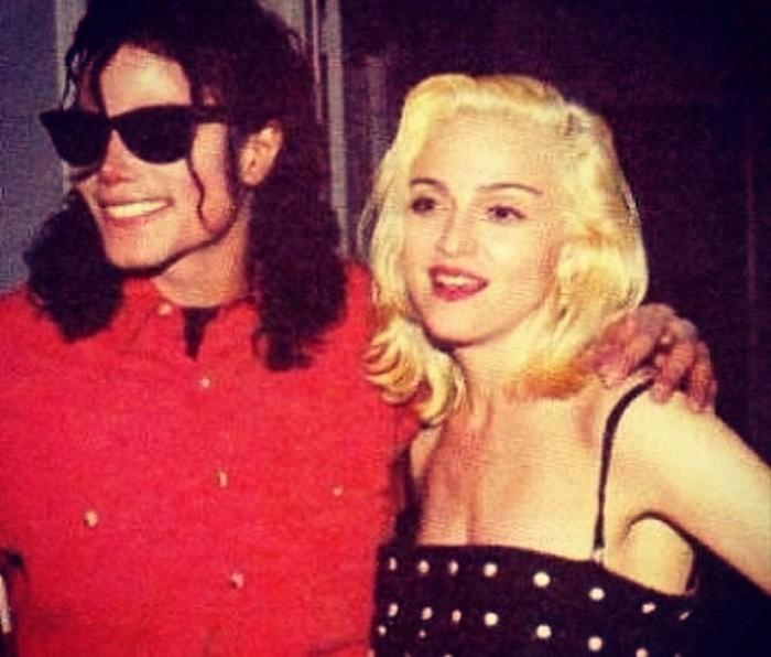 Madonna si Michael Jackson
