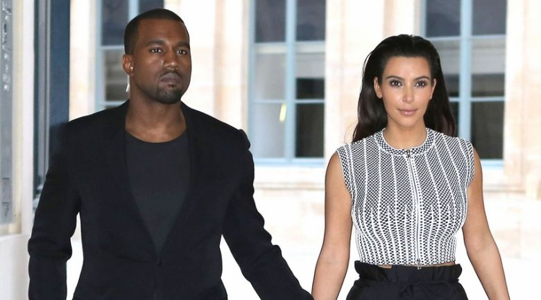 Kim And Kanye Heading To The Givenchy Fall/Winter 2012/2013 Fashion Show