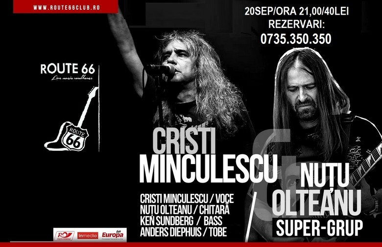 Concert Cristi Minculescu si Nutu Olteanu - CLUB ROUTE 66