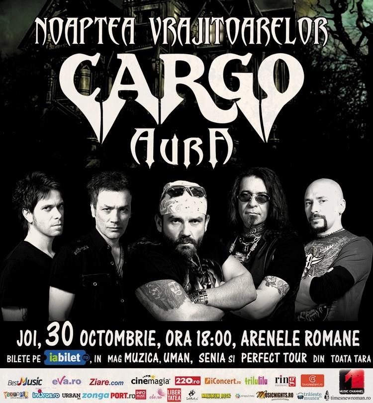 Cargo---AURA afis concert