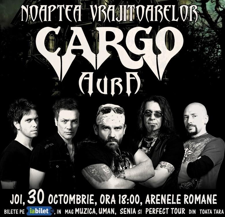 Cargo-AURA noaptea vrajitoarelor 30 octombrie 2014