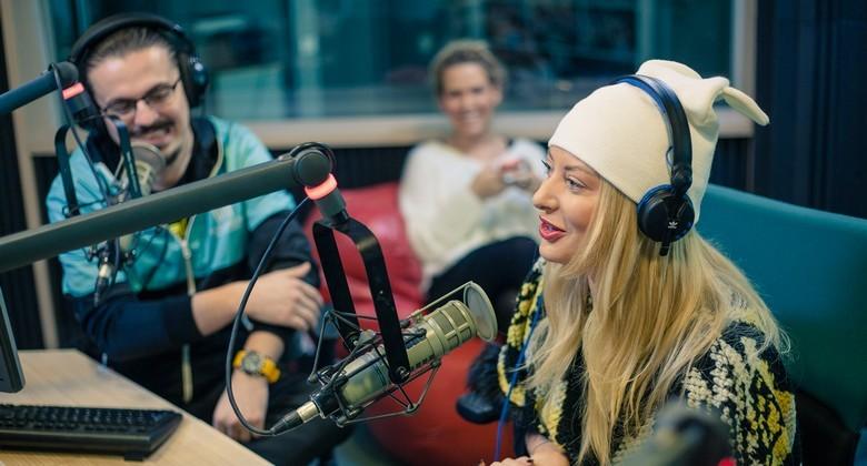 Delia la KISS FM