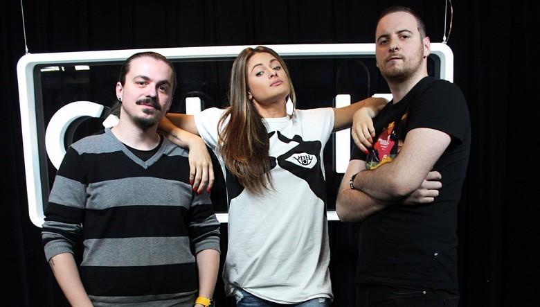 Raluka la Sergiu si Andrei ( Kiss FM )