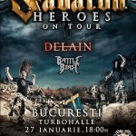 Sabaton la Bucureşti: Ultimele două săptămâni de bilete reduse