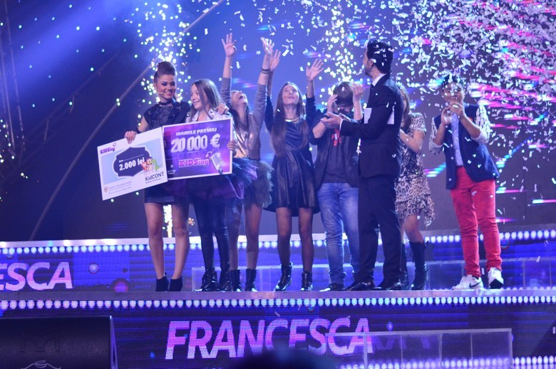Francesca Nicolescu castigator KIDSing