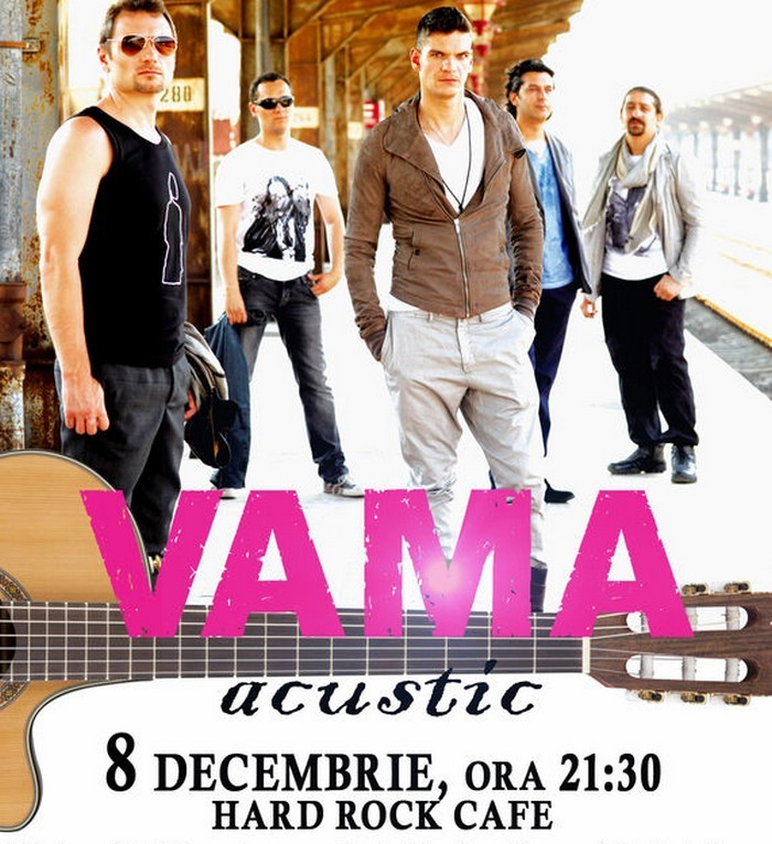 concert vama acustic hard rock cafe