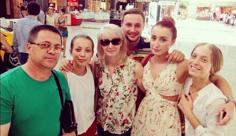 Adriana Rusu si Familia