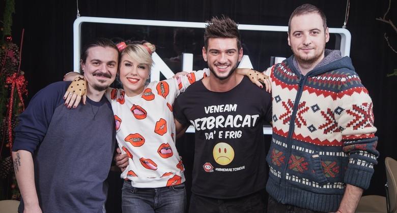 Dorian Popa si Corina BUD la KISS FM