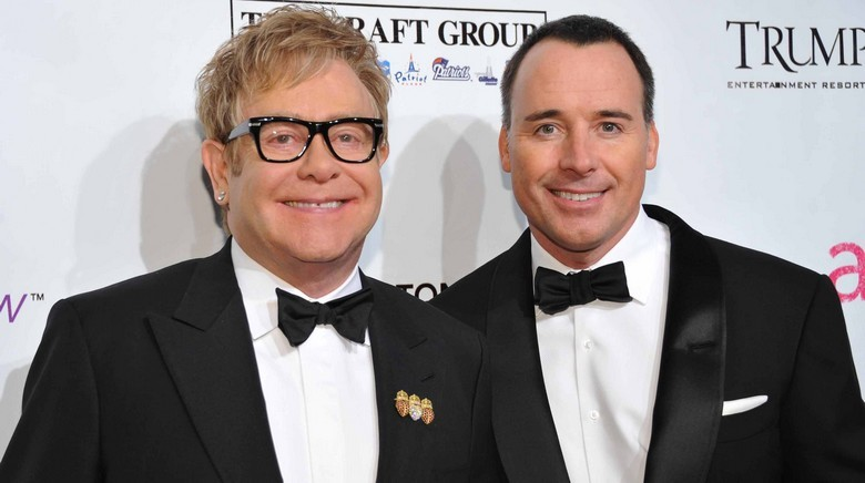 Elton John si David Furnish