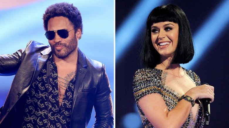 Lenny Kravitz - Katy Perry