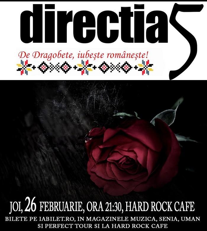 concert directia 5 hard rock cafe februarie 2015