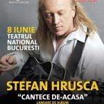 Cu ocazia lansării noului album, Ştefan Hruşcă va susţine un concert la Teatrul Naţional Bucureşti