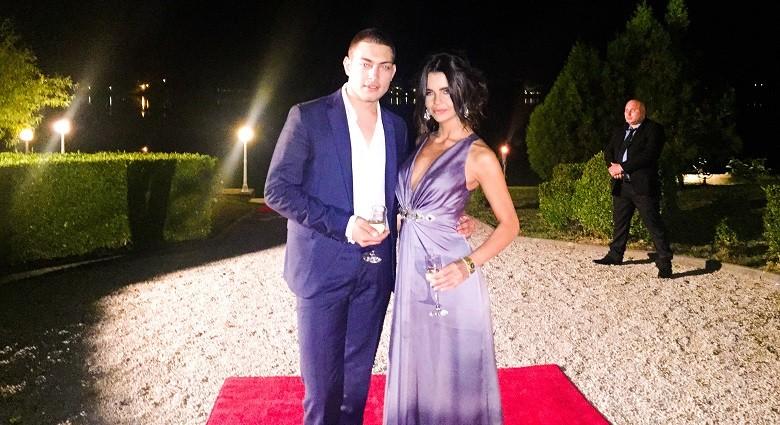Ilie Dumitrescu Jr si Francesca Lucarelli nunta Bobby Paunescu