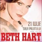 Beth Hart, salvată de la moarte de soţul ei