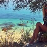 FOTO Alina Eremia a avut o vacanţă de vis în Portugalia