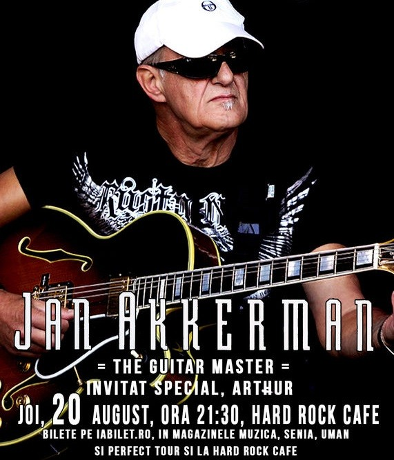 jan akkerman arthur concert hard rock cafe