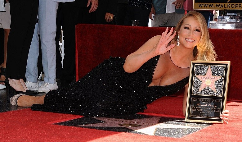 mariah carey stea walk of fame