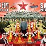 Radu Captari, invitat special în spectacolele Corului Armatei Roşii de la Cluj şi Bucureşti