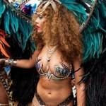 "Rihanna a atras toate privirile la ""carnavalul"" din Barbados"