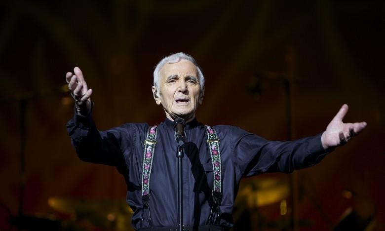 Charles AZNAVOUR concert romexpo