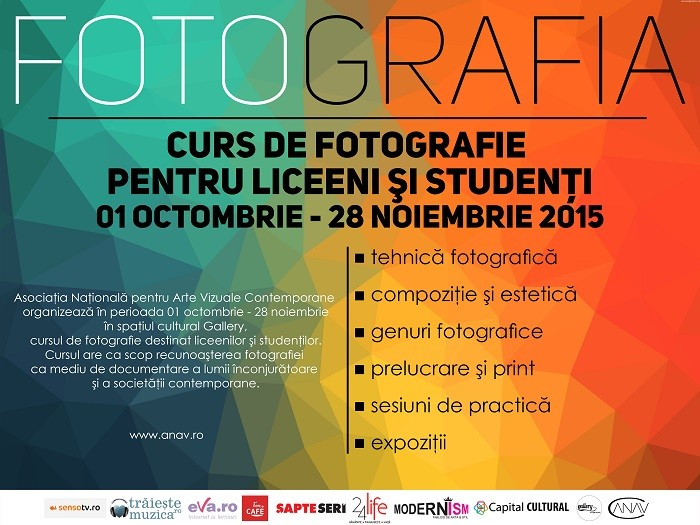 Curs Foto ANAV - poster