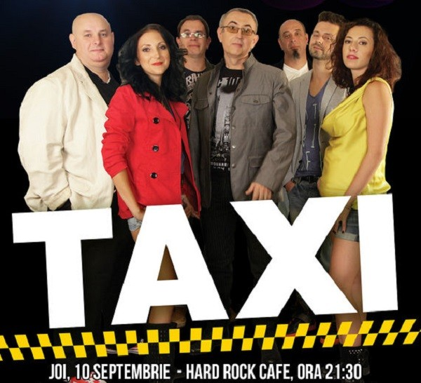 taxi concert hard rock septembrie 2015
