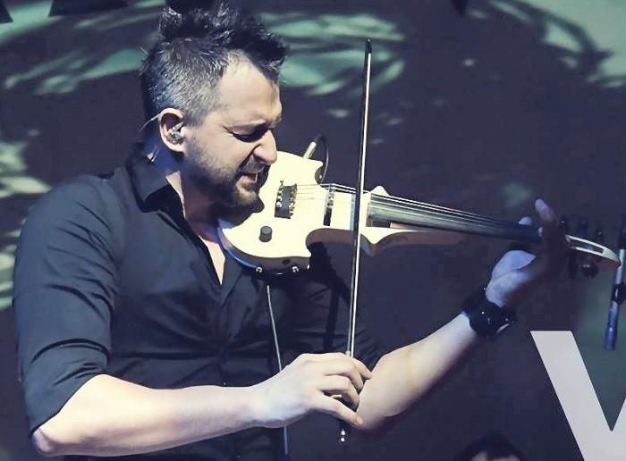 Daniel Lazar cu vioara
