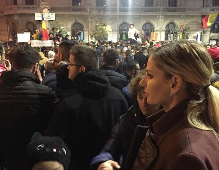 andreea banica proteste universitate
