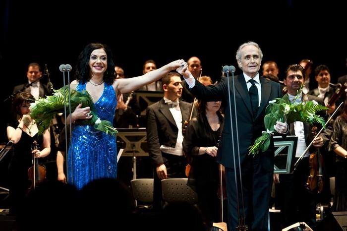 Jose Carreras si Natalya Kovalova