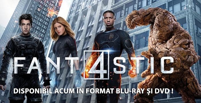 Fantastic 4 dvd blu ray