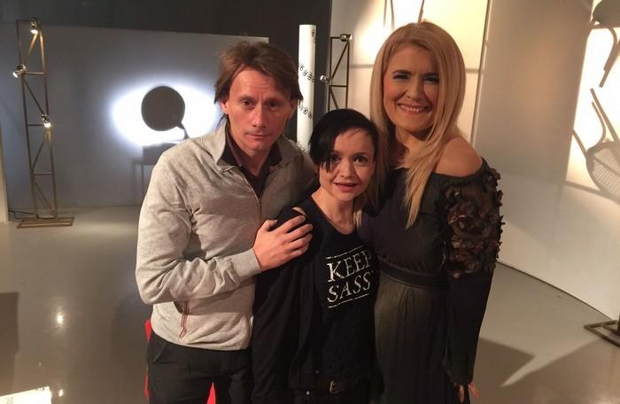 Liana Stanciu cu Dorina si Marius