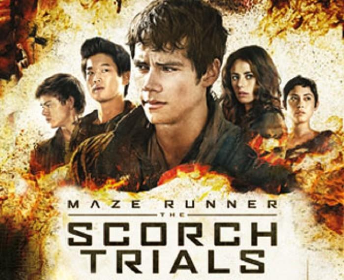 Maze Runner The Scorch Trials dvd blu ray