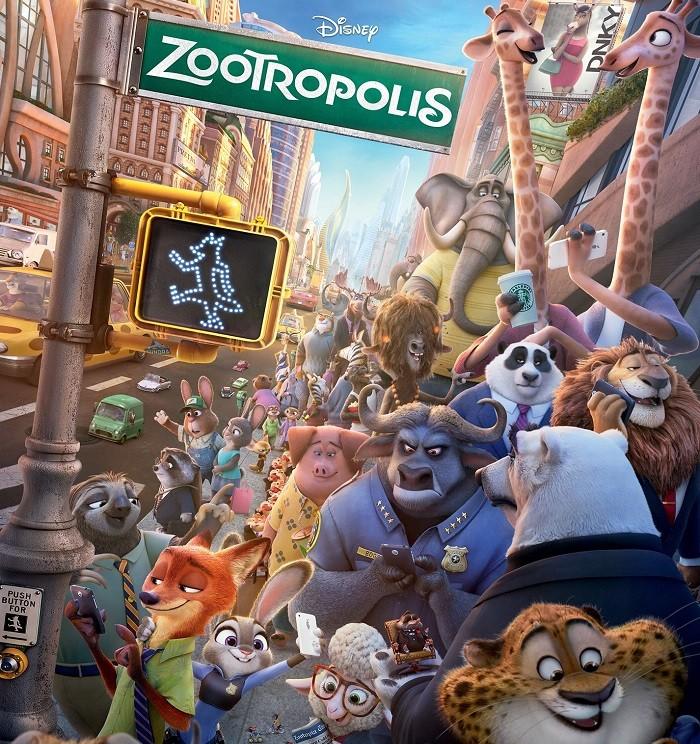 Afis_Zootropolis (premiera pe 4 martie 2016)