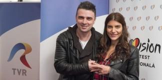 Cornel Ilie si Ioana Voicu EUROVISION