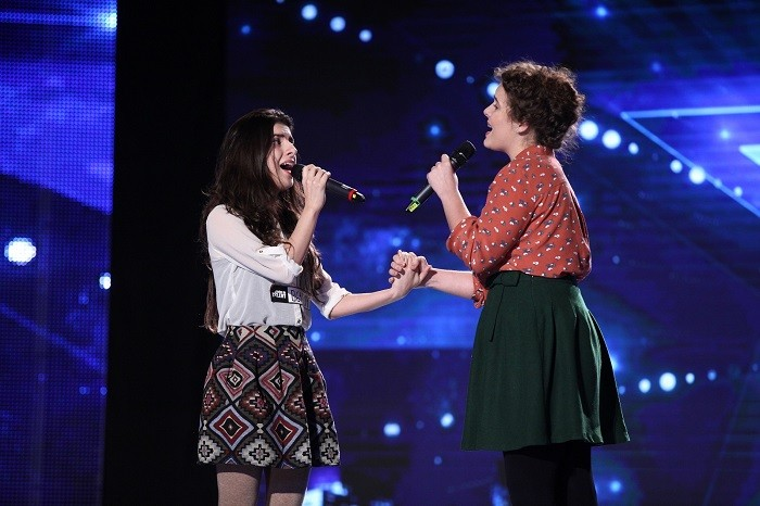 Elena si Emanuela Popescu romanii au talent live