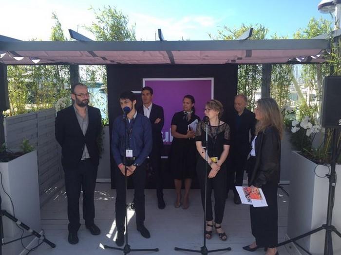 Alexander Nanau_Prix Radio Culture_Cannes 2016 @France Culture