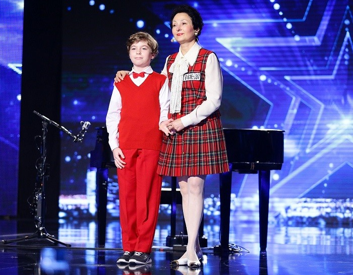 Mirela si George Spinu romanii au talent semifinala