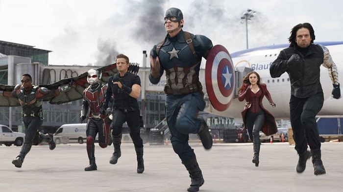 captain america civil war efecte
