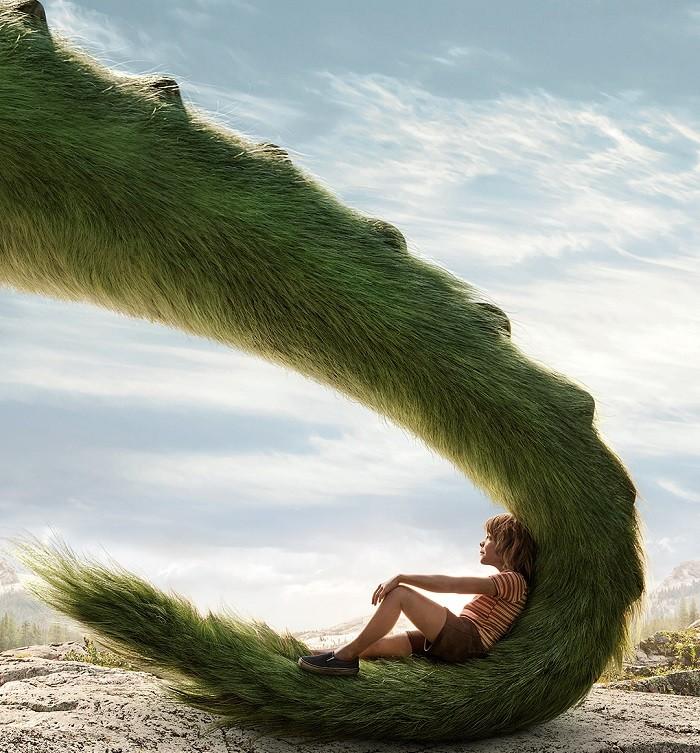 film Afis_Pete si Dragonul